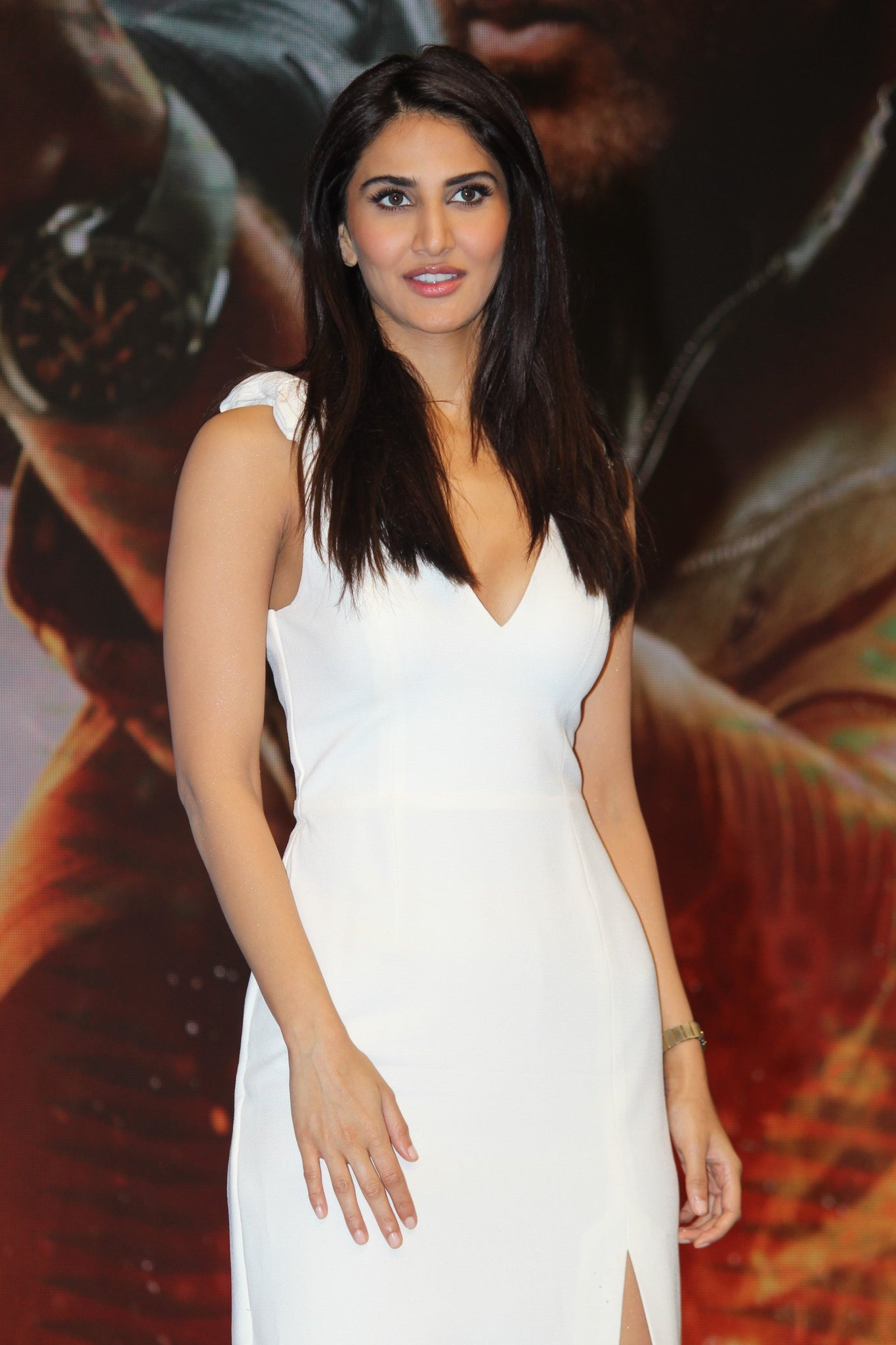 Vani Kapoor in white Midi Dress