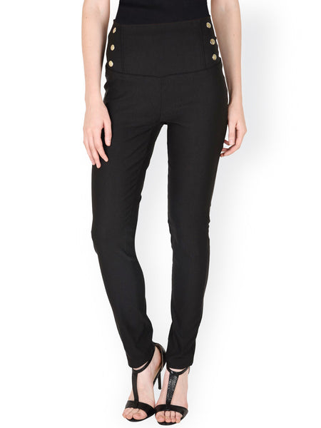 SASSAFRAS-Black-Skinny-Fit-Jeggings