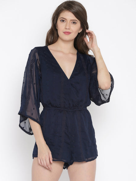 Trendy Navy Rompers Stylish Rompers