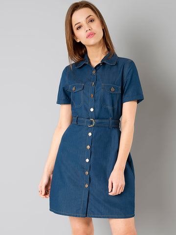 designer-dresses-blue-denim-solid-shirt-dress