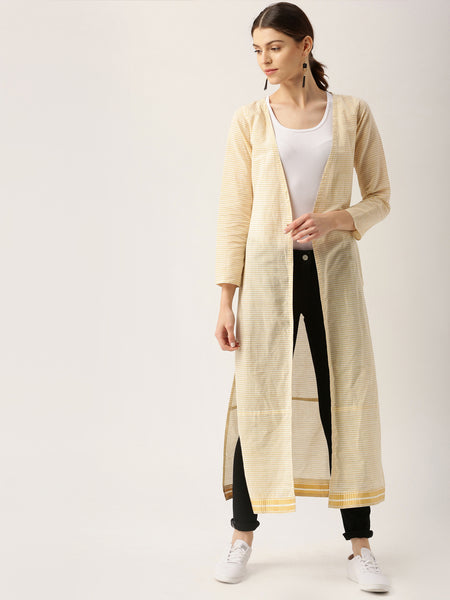striped-maxi-shrug-white-&-beige-longline-shrug-designer-cape