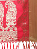 Silk Sarees Red Kanjeevaram Art Silk Traditional Saree