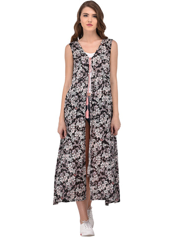 long-shrugs-black-&-white-floral-print-longline-shrug-designer-cape