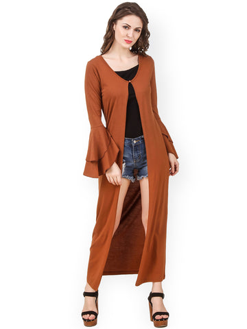 long-shrugs-online-brown-longline-shrug-designer-cape
