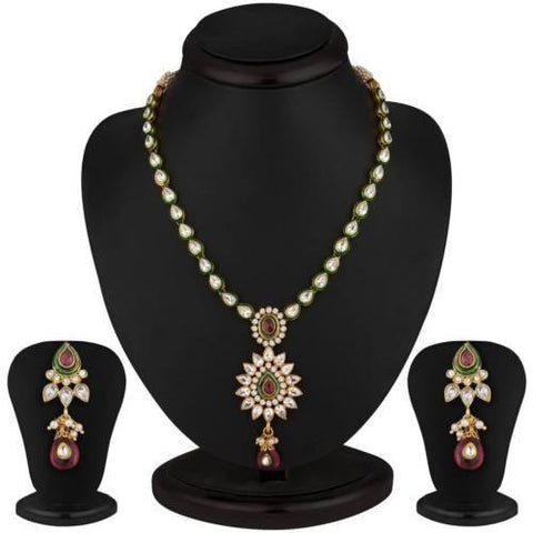 New Fashion Trend In India 2016 Designer Jewelley Necklace Earrings Sets
