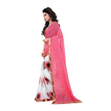 Latest Designer Printed Saree Georgette Saris For Women lady-066 Party Wear Sarees