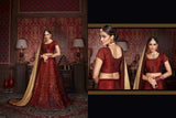 Urban-Naari-Red-Colored-Silk-Heavy-Embroidered-Semi-Stitched-Lehenga-Choli
