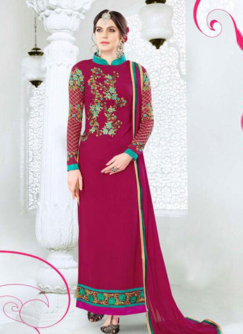 Urban-Naari-21489-Pink-Colored-Georgette-Embroidered-Semi--Stitched-Salwar-Suit