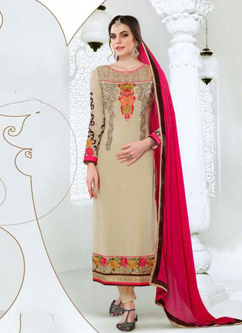 Urban-Naari-21492-Beige-Colored-Georgette-Embroidered-Semi--Stitched-Salwar-Suit