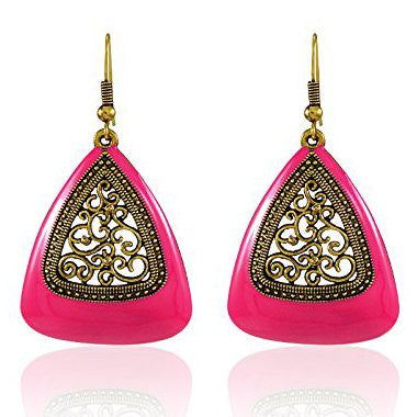 Designer Jewellery Oxidised Designer Fancy Party Wear Earrings For Girls And Women