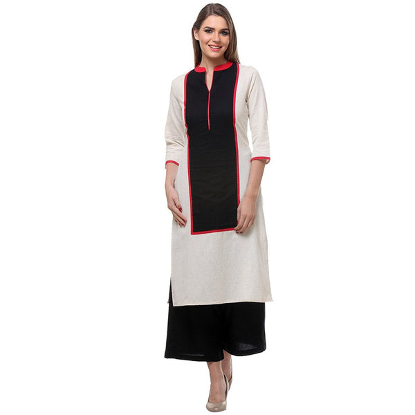 Urban-Naari-Green-Colored-Designer-Cotton-Blend-Printed-Stitched-Kurti