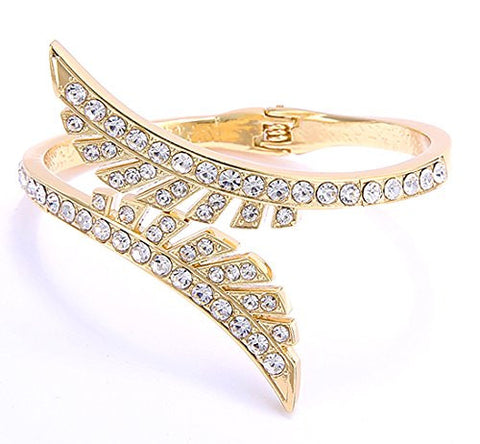 Latest Designer Jewellery Gold Plated Bangle Bracelet For Women