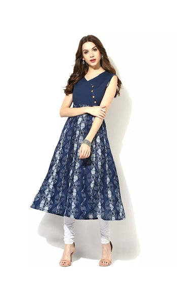 printed-anarkali-kurtis-blue-color-cotton-kurtis-for-girl-a015