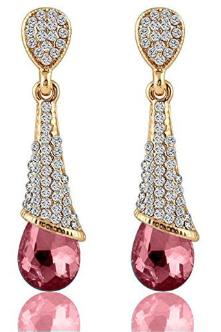 Designer Jewellery Valentine Collection Zircon Fancy Party Wear Earrings For Girls And Women
