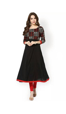 new-cotton-kurtis-black-color-casual-anarkali-kurtis-a020