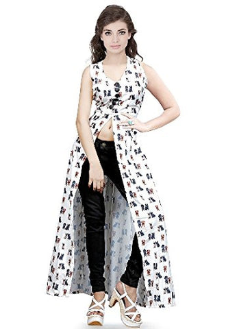 Latest Fancy Designer White Kurtis