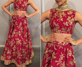 Designer Bollywood Style Lehenga Choli Deepika Padukon Latest Fashion Wear