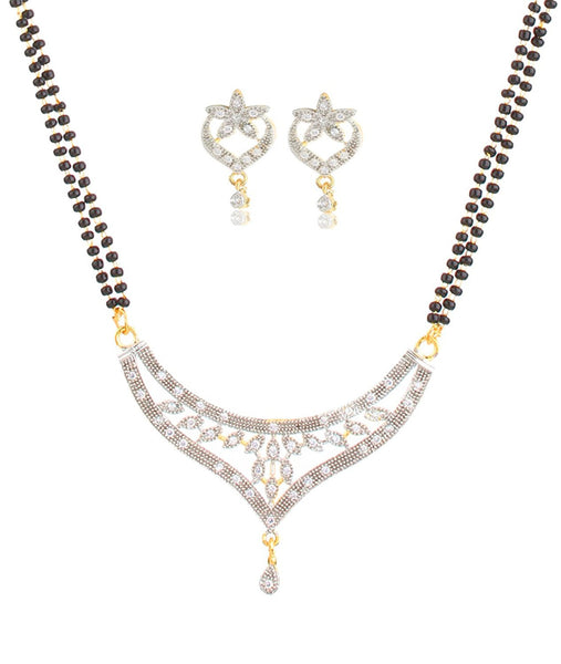 Designer Jewellery Bling N Beads 18k Gold Plated Mangalsutra Wedding For Women