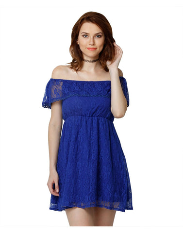 royal-blue-net-off-shoulder-dress-ruffle-style-skater-dress
