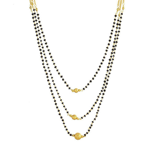 Designer Jewellery Gold Plated Mangalsutra For Women