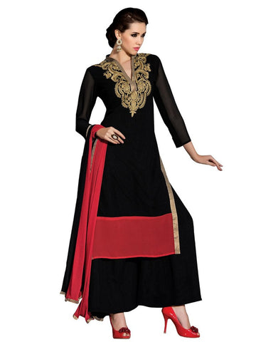 festive-offer-plazzo-suit-womens-georgette-salwar-semi-stitched-dress-material-salwar-suit