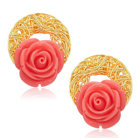 Classic Gold Plated Earrings For Women