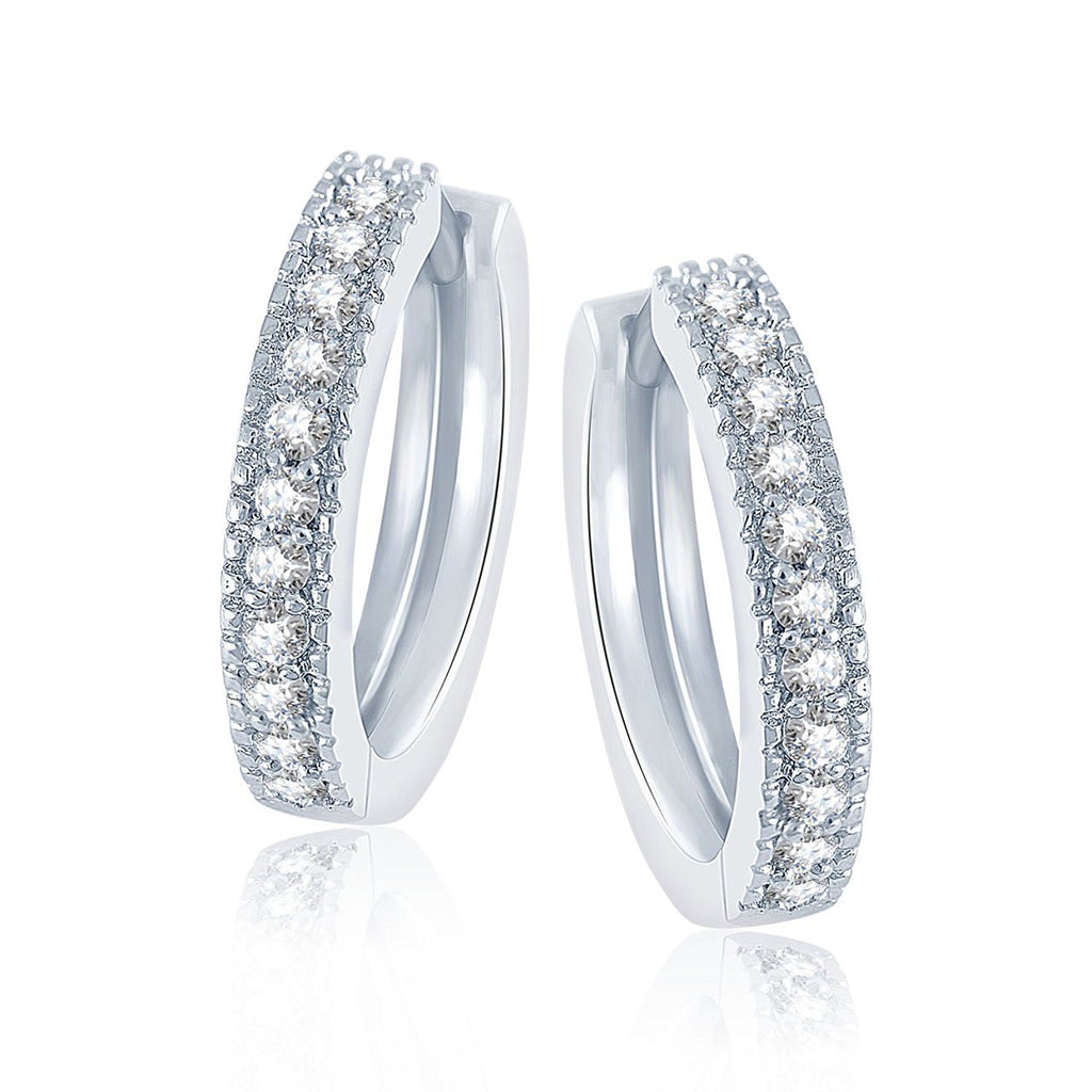 cf5daee33 Shop online Sterling-Silver Stud Earring For Women White at best Prices – Lady  India