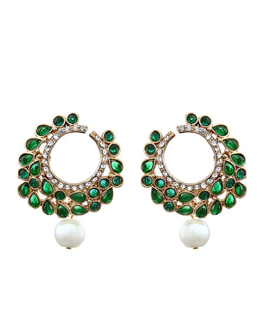 Zaveri Pearls Pearl Dangle & Drop Earring For Women