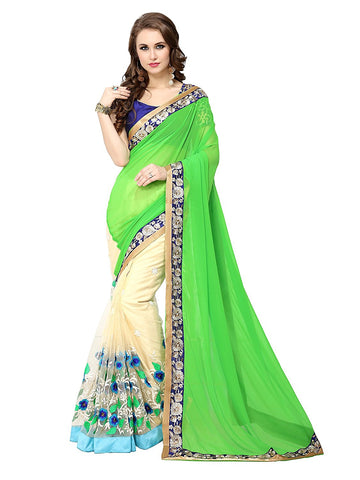 fs-24-festival-sarees-designer-party-wear-floral-embroidered-georgette-sarees-with-lace-border-work