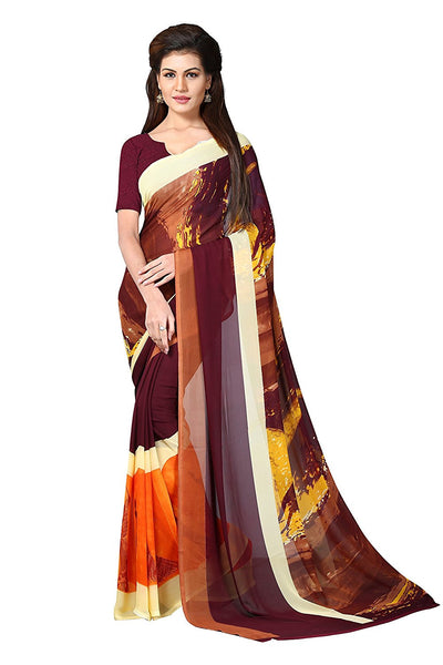 Georgette Sarees Party Wear Fancy Printed Georgette Sarees