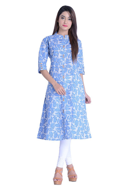 navy-blue-straight-cotton-kurta-printed-cotton-kurtis-for-girl-a024