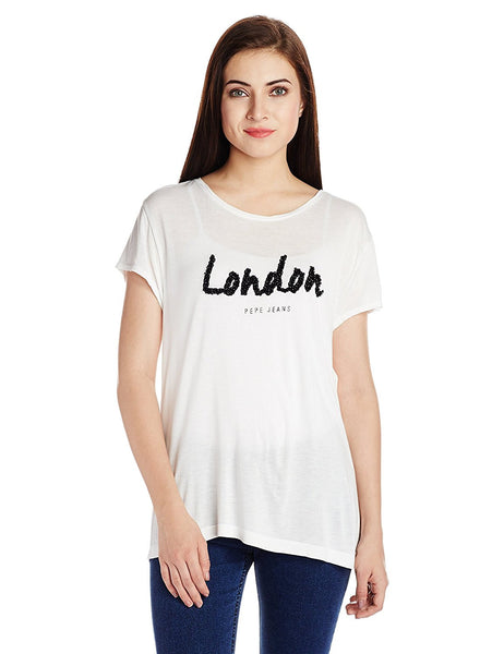 White Color Casual Tops For Girls Ladyindia3