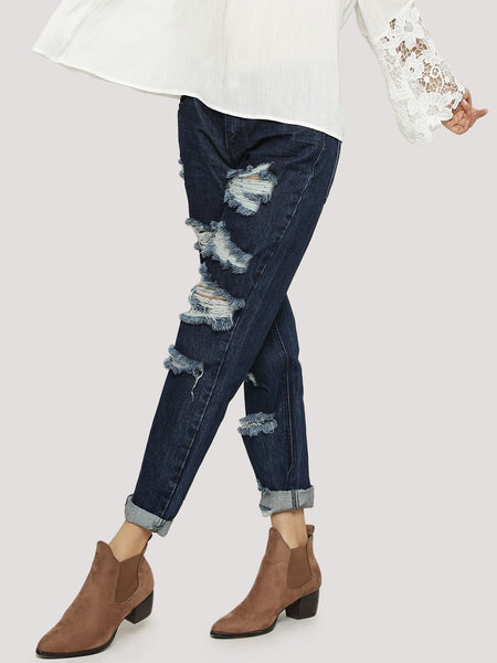 GLAMOROUS-Ripped-And-Distress-Jeans