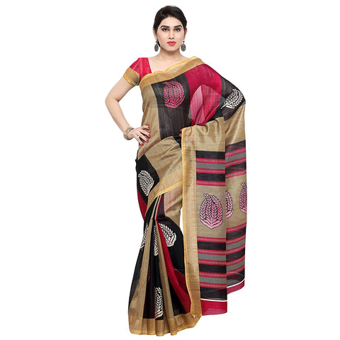FS-33 Festival Dhamaka Bhagalpuri Silk Sarees Party Wear Festival Sarees With Geometric Print