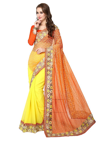 fs-26-diwali-dhamaka-half--&-half-style-machine-embroidered,-floral-embroidery-&-stone-work-sarees