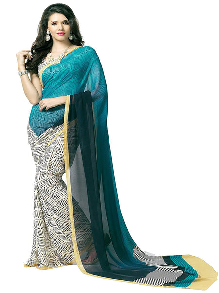 Beautiful Designer Georgette Sarees S096