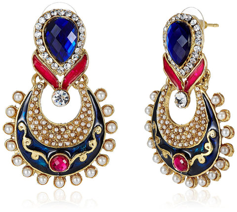 Designer Jewellery Traditional Drop Earrings For Women