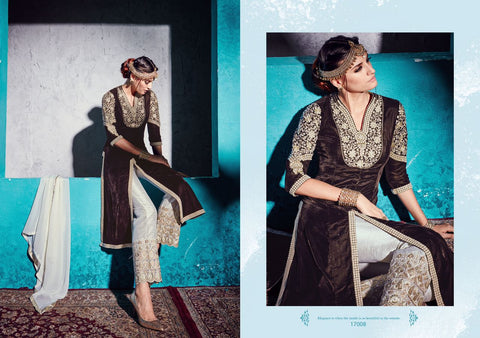 Urban-Naari-21442-Pakistani-Designer-Clothes-Off-White-Designer-Pure-Velvet-Heavy-Embroidered-Semi-Stitched-Salwar-Suit