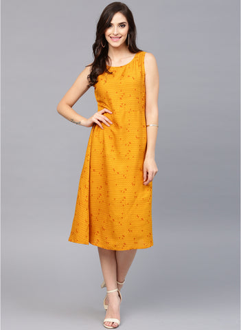mustard-yellow-coloured-printed-shift-dress-sleeveless-dresses-sft11