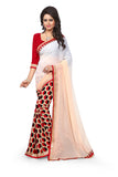 Red-&-White-Designer-Half-&-Half-Fashion-Saree-lady-065-Party-Wear-Saree