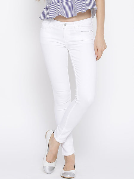 Buy-online-Womens-No-Zip-Ankle-Length-Jeans-