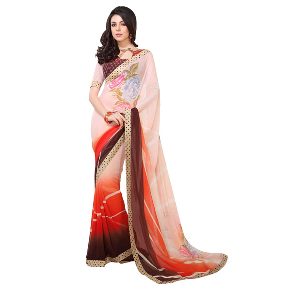 Georgette-Saree-Women-Latest-Fashion-Printed-Saree-lady-070-Party-Wear-Saree