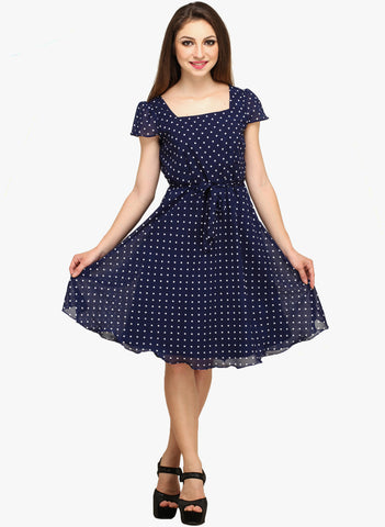 blue-coloured-polka-dot-print-shift-dress-for-girls-sft05