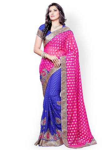 fs-4-festival-sarees-ethnic-print-on-pallu-embroidered-lace-border-embroidered-jacquard-sarees