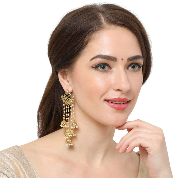 Designer Jewelry Online Long Chain Earrings