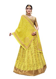 Exclusive Designer Lehenga Choli Yellow Color Embroidered Lehenga Choli