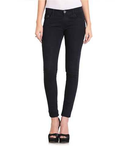 FlyJohn-Black-Cotton-Lycra-Jeans