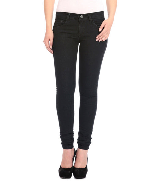 Shop-Online-Flyjohn-Black-Cotton-Women-Jeans