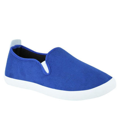 Designer Blue Sneakers Casual Footwear Canvas Shoes For Girls