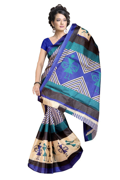 Latest Designer Printed Saree For Women